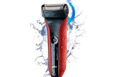 Scheerapparaat voor nat en droog: WaterFlex van Braun