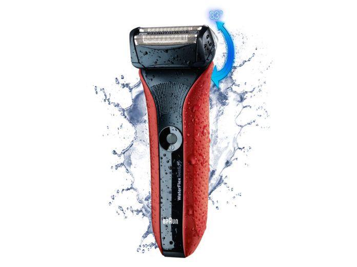 Braun WaterFlex scheerapparaat