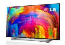 LG quantum dot televisie
