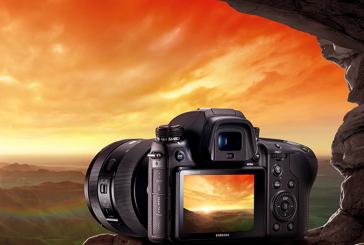Professionele NX1-systeemcamera bij Samsung