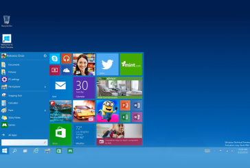 Windows 10: terugkeer van het startmenu