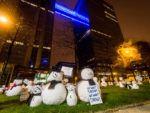 Base Snow - ludieke actie bij Belgacom