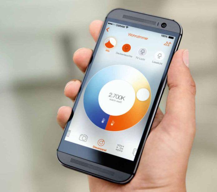 Osram Lightify app