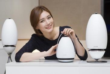 Futuristische speakers bij Samsung
