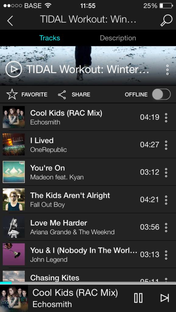 Tidal muziek streaming