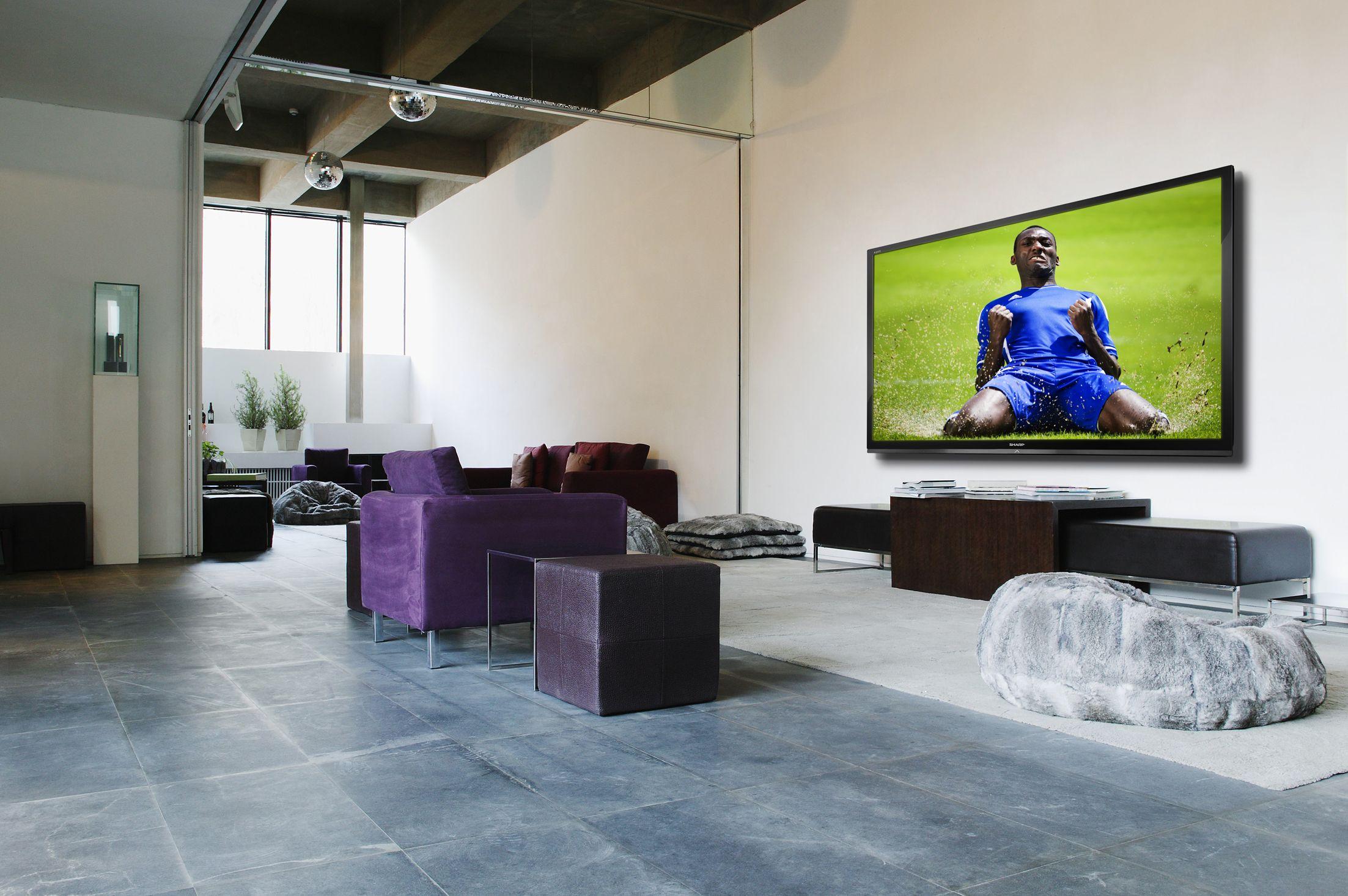 Tv kopen welk formaat kies ik best - Televisie suspendue mur ...