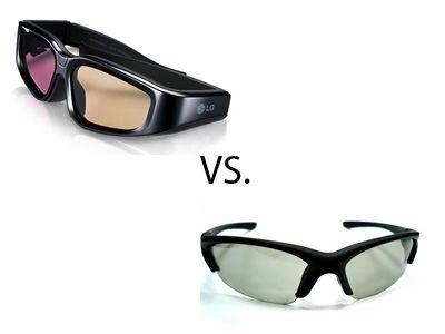actieve 3D versus passieve 3D