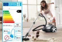 energielabel stofzuiger
