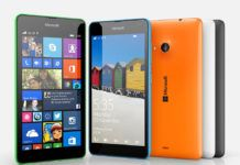 Windows smartphone Lumia 535