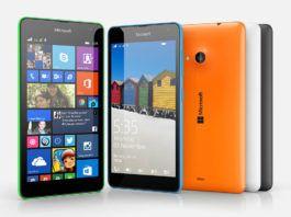 Windows smartphone Lumia 535