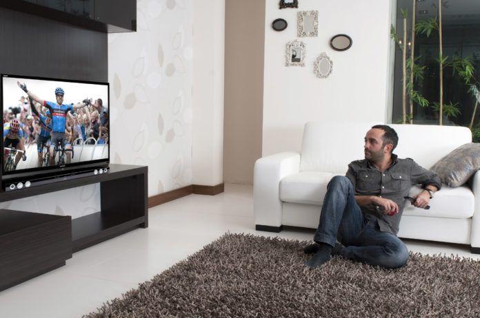 televisie aansluiten
