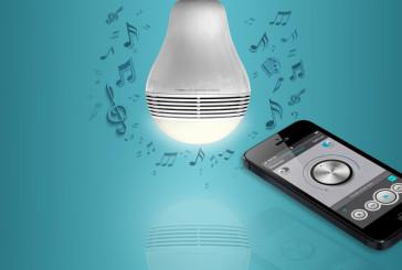 Playbulb: lamp met ingebouwde speaker