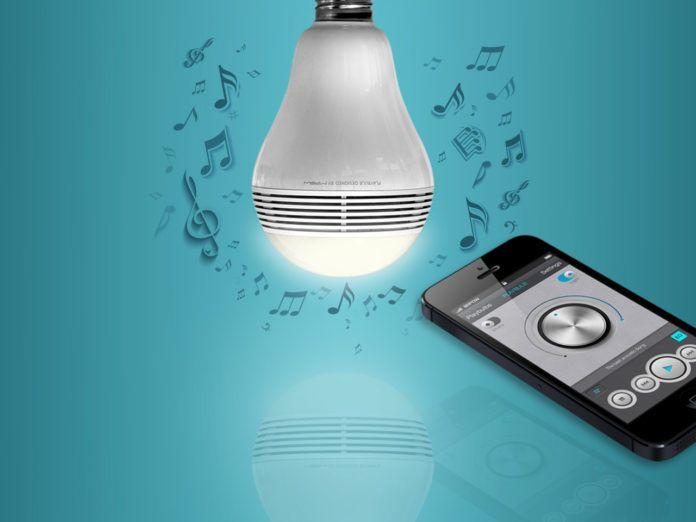 PlayBulb: led-lamp met ingebouwde luidspreker