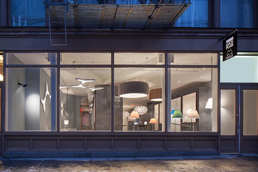 2/17/2015 New York, NY. Luceplan's new showroom in SoHo.