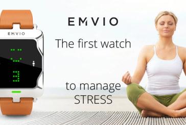 Ga stress te lijf met de Emvio-smartwatch