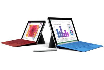 Microsoft gaat dunner en lichter met Surface 3