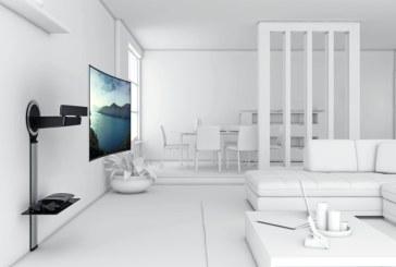 De ideale muurbeugel voor je curved TV vind je bij Vogel's
