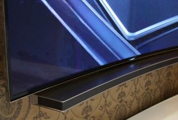 Ook de soundbar wordt curved bij Samsung
