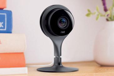 Nest met slimme beveiligingscamera Cam