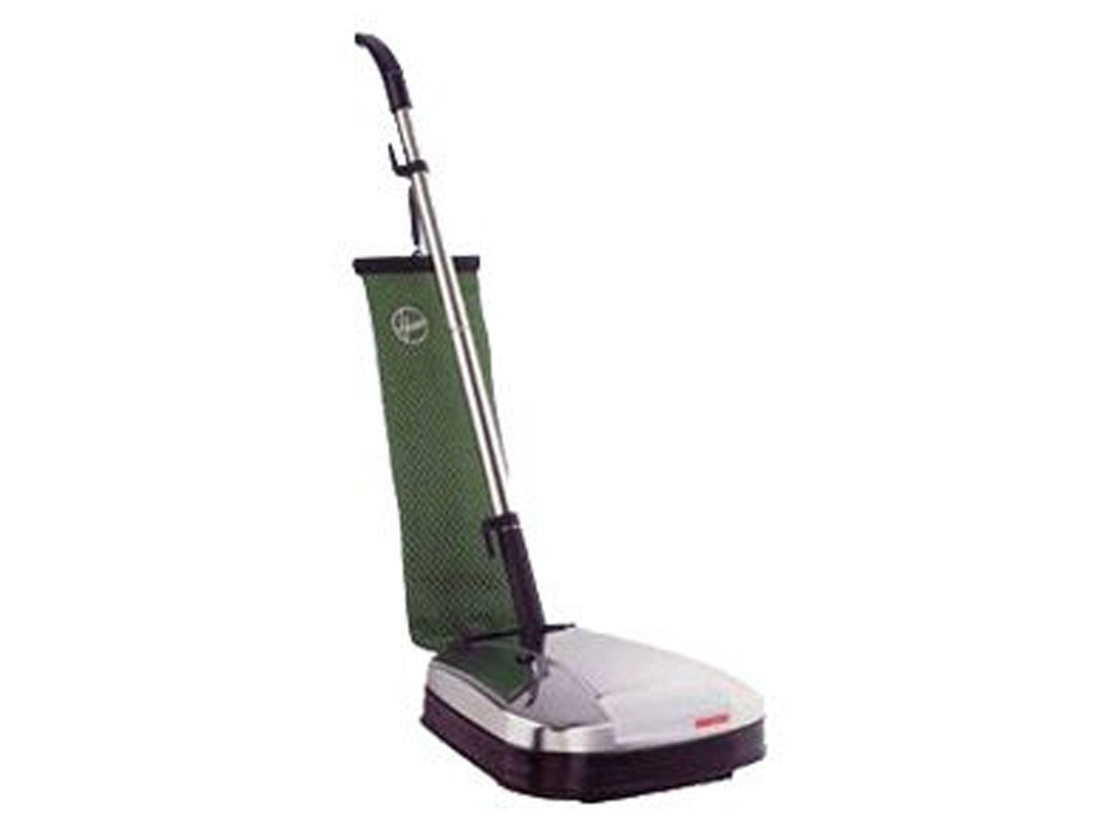 Glanzende vloeren met de boenmachine