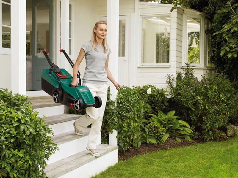 Onderhoud van de grasmaaier