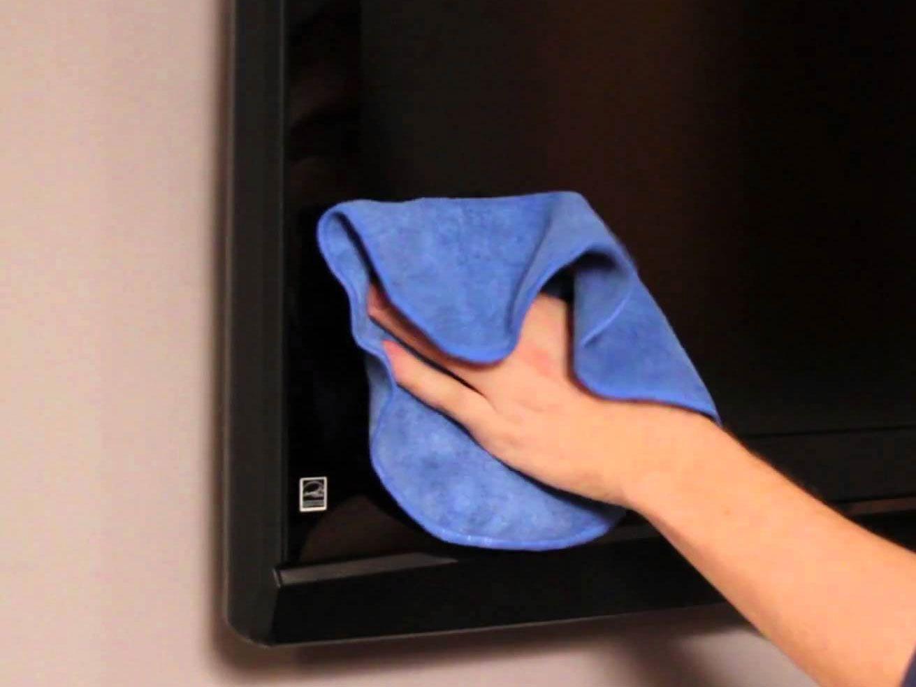onderhoud flatscreen tv ochtend schoonmaakwerk. Black Bedroom Furniture Sets. Home Design Ideas