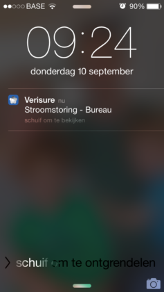 Verisure app iOS
