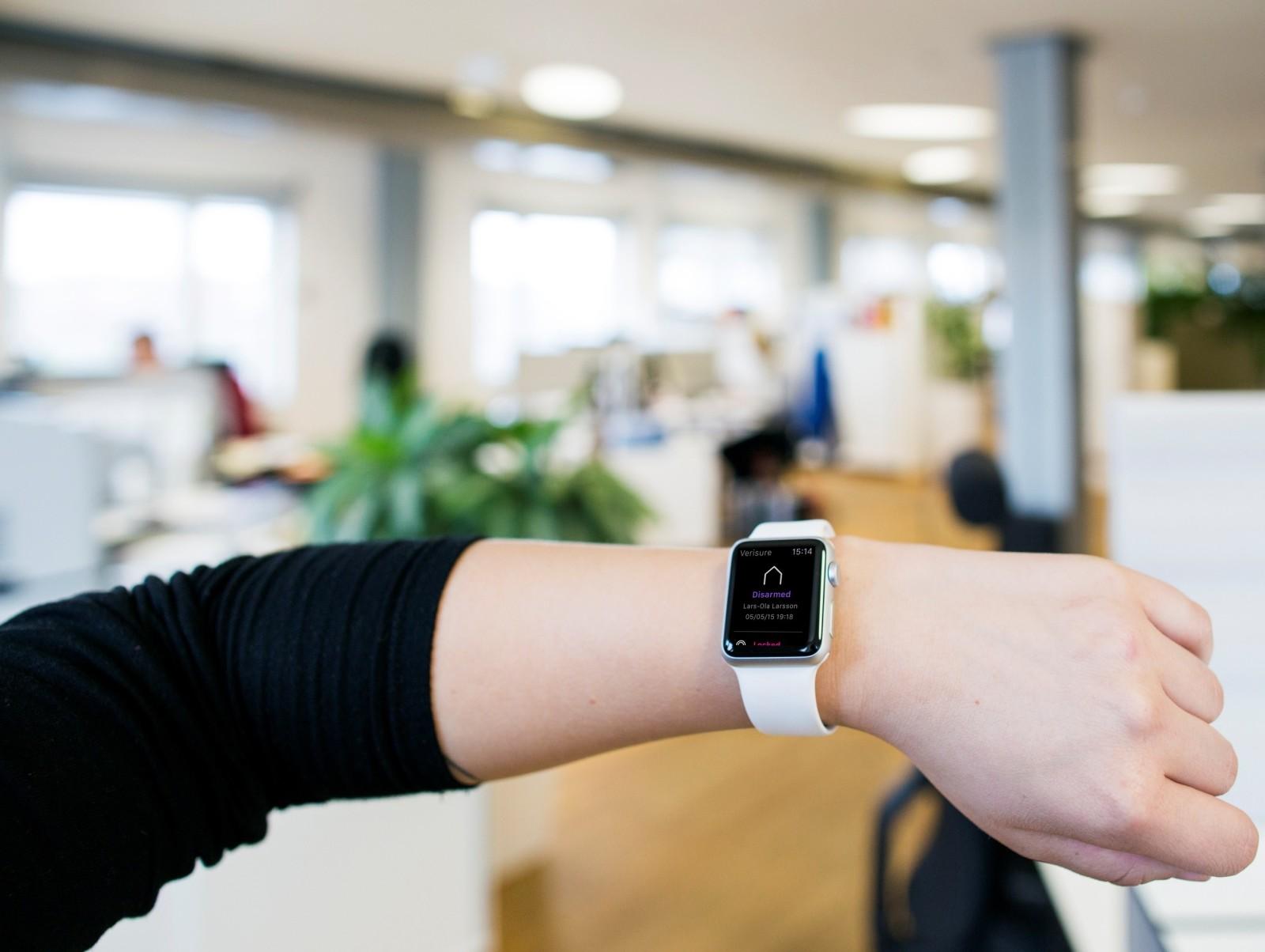 Verisure smartwatch app