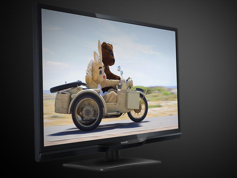 De ideale televisie voor op kot van Philips