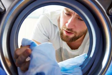 Symbolen van textiel voor onderhouden van het wasgoed