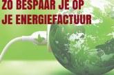 Zo bespaar je op je energiefactuur!