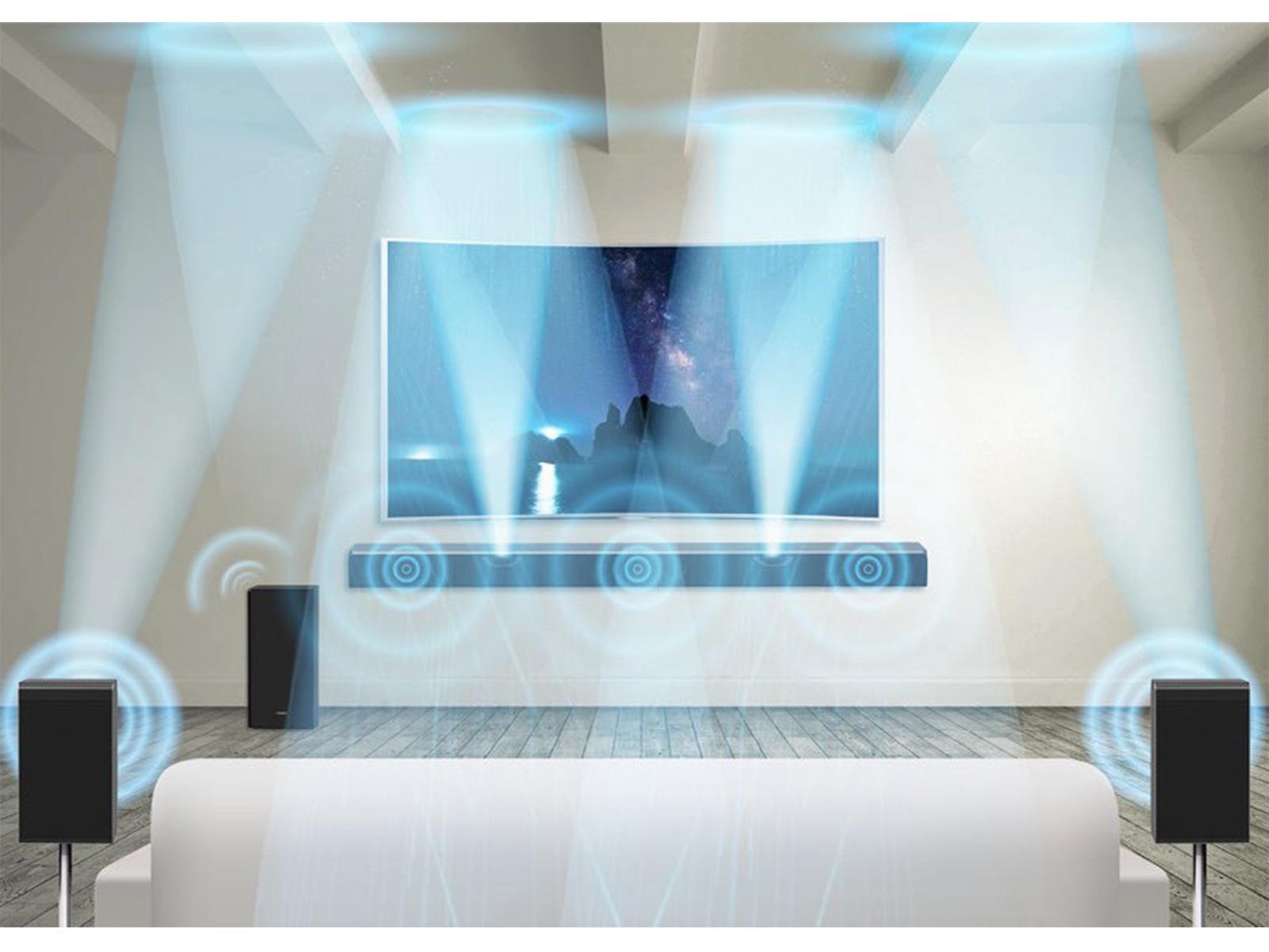 CES: Samsung komt met Dolby Atmos-soundbar