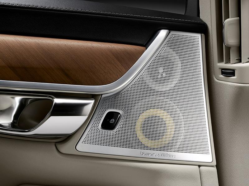 Bowers & Wilkins pimpt geluid Volvo S90