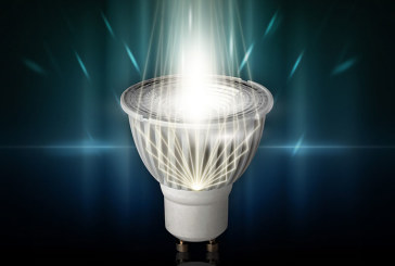 Efficiëntie van led met licht van halogeen dankzij Megamans Hybrid Reflector