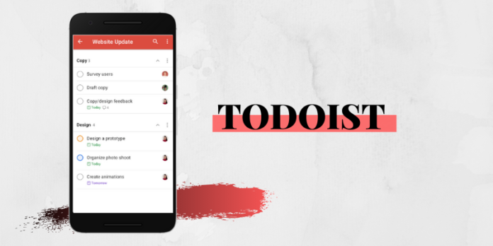 todoist screenshot