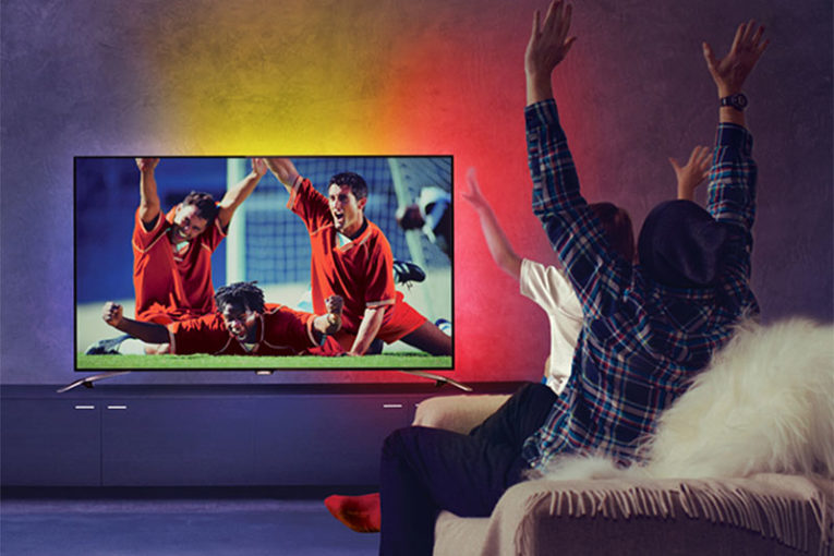 Vivez la Coupe d'Europe plus intensément avec votre téléviseur Philips !