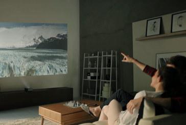 Eender waar films kijken met LG's Minibeams-projectoren