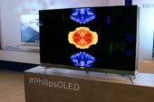 Le premier téléviseur OLED de Philips est équipé de l'Ambilight