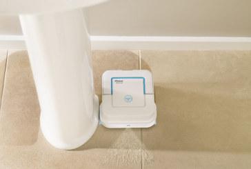 Kleine dweilrobot voor keukens en badkamers