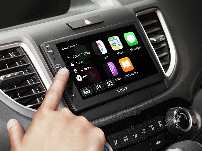 Sony neemt jouw dashboard over met audiosysteem