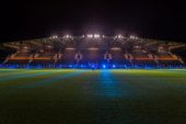 Philips zorgt voor lichtshow in stadion KV Oostende