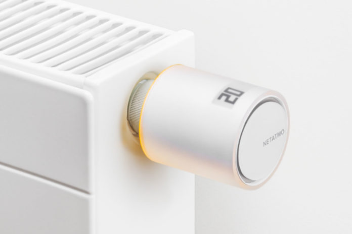 netatmo radiator knop