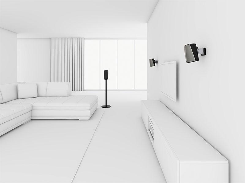 Vogel\'s hangt jouw HEOS-speakers aan de muur