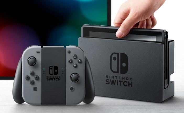 Release Nintendo Switch op 3 maart