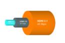 HDMI 2.1 met ondersteuning voor 8K en dynamische HDR