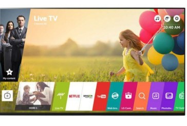 LG WebOS 3.5 maakt smart tv eenvoudiger