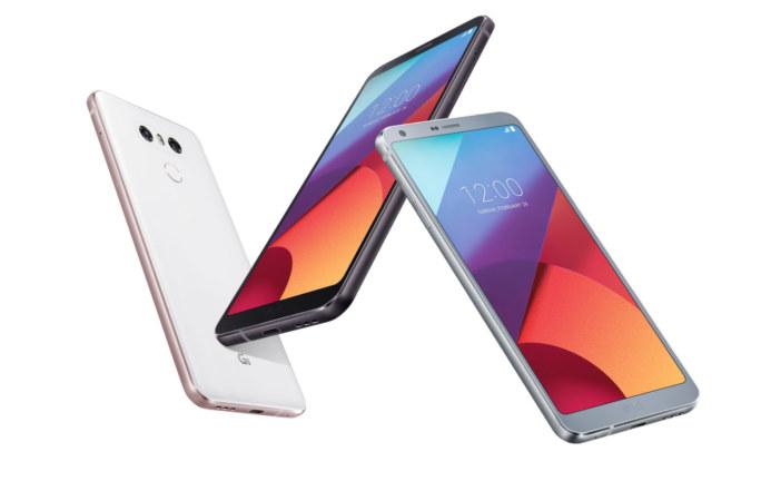 LG G6: Android 7.0 smartphone met schermverhouding 18:9 en ingebouwde Google Assistant