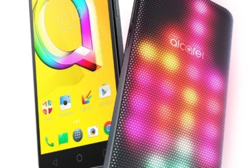 Alcatel A5 LED smartphone met lichtgevend hoesje