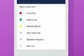 Makkelijker je favoriete plekken in Google Maps opslaan en delen
