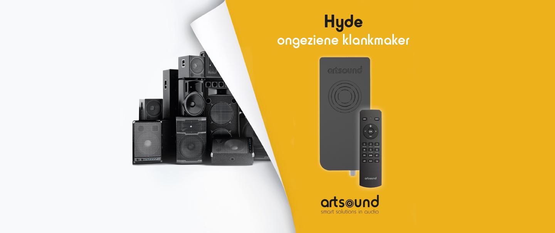 Makkelijk muziek in keuken of badkamer met Art Sound Hyde